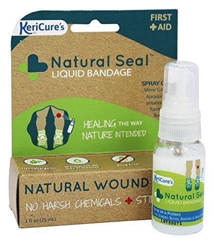 KeriCure Natural Seal Liquid Bandage, 1 Ounce
