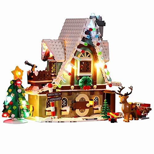 BSPAS LED Beleuchtungsset für Lego 10275 Elfen-Klubhaus, Beleuchtung Licht Set für Lego Elfen-Klubhaus 10275...
