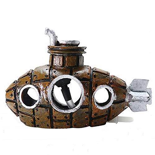 Smoothedo-Pets - Decoración para acuario con bomba de oxígeno