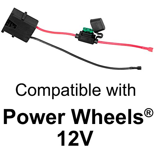 Find Cheap SafeAMP Wire Harness Connector for Fisher-Price Power Wheels 12-Volt SLA Battery