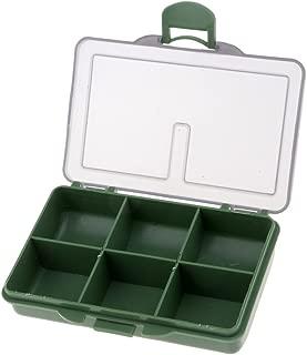 Perfeclan Multi Compartments Plastic Fishing Tackle Box Lure Swivel Hook Bait Kit Large Storage