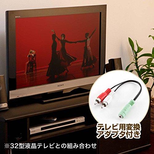 サンワダイレクトスピーカーテレビパソコン対応10W400-SP027