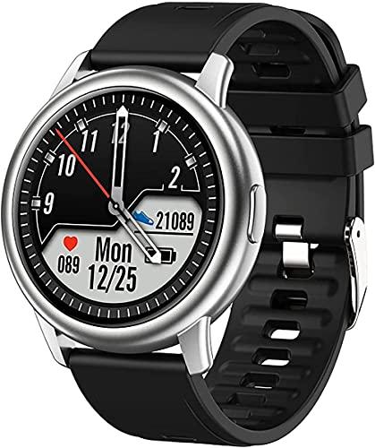 wyingj Reloj inteligente del podómetro impermeable IP68 de los hombres s de los deportes conveniente para Android-E