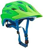 ALPINA Kinder Carapax Jr. Endurohelm, Green/Blue, 51-56 cm