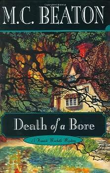 Hardcover Death of a Bore (Hamish Macbeth Mysteries, No. 21) Book