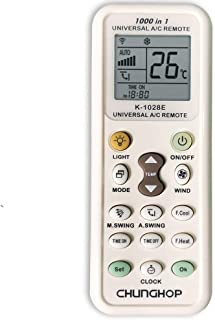 CHUNGHOP Universal Air Conditioner Remote Control for All Most All models of All Brands Air Conditioning A/C Controller 1000 Codes