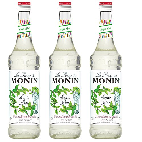 Monin Sirup Mojito Mint, 0,7L 3er Pack