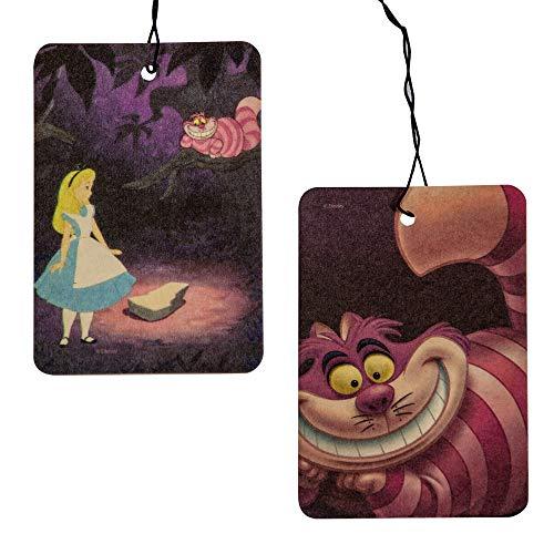Plasticolor Alice in Wonderland Cheshire Cat Paper Air Freshener, 2 X 2-Pack - 4 Total