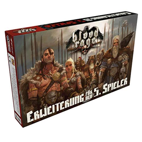 Cool Mini or Not, Inc. Blood Rage 5th Player Expansion - Multi