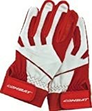 Combat JM26 Signature Batting Gloves Pair - Red - Large CMJ26BG-RD-L
