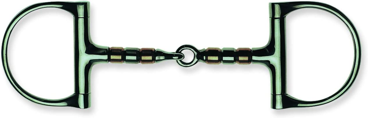 Metalab Jointed w Copper ハイクオリティ Rollers 人気ブランド多数対象 D Ring 13mm Bit N 5.2 A Snaffle