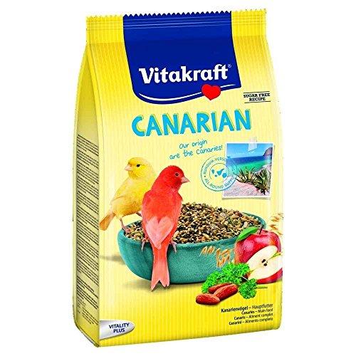 Vitakraft Komplettes Kanarienmenü für Kanarien, 800 g
