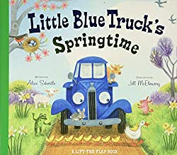 Easter books, little blue truck's springtime book