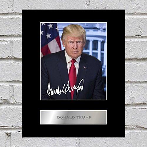 Signiertes Foto von Donald Trump
