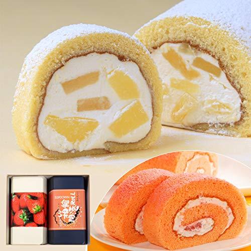北海道 ジョリ・クレール ロールケーキ 2本セット G (函館ロールセット B)【離島配送不可】