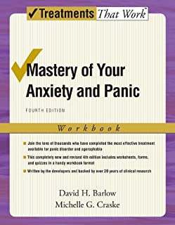 Mastery of Your Anxiety and Panic: Fourth Edition: Workbook (Treatments That Work) by David H. Barlow (2007-01-11)