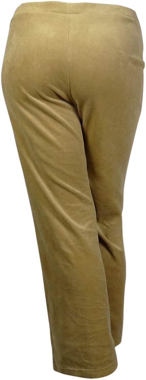 Charter Club Deep Women's PullOn Flare Leg Velour Pants
