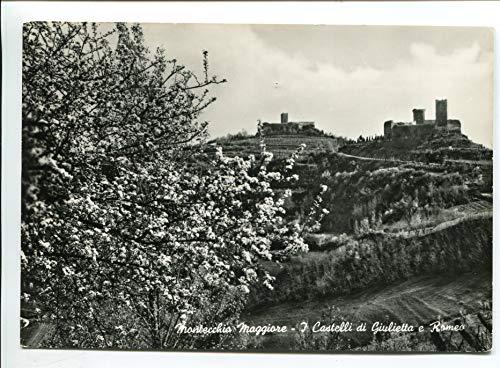 1963 Montecchio Maggiore Castelli di Giulietta e Romeo GULLER Cavazza Vicenza DEST. Viareggio Lucca FG B/N VG