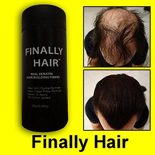 Hair Building Fibers Medium Brown Hair Loss Concealer Fiber 28 Gram .99oz Refillable Bottle