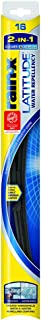 Rain-X 5079274-2 Latitude 2-in-1 Water Repellency Wiper Blade - 16-inches