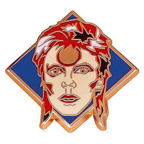 Générique Pin's Broche Métal Email David Bowie Life on Mars
