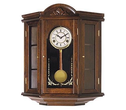 RELOJESDECO Reloj de Pared de péndulo 55cm, Reloj con carrillón, maquinaria Cuarzo Espectacular, con Mueble, sonería carrillón