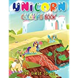 Unicorn Coloring Book for Girls 10-12: Exclusive Great Unicorn Coloring Book With Funny High Quality Images For All Ages(Volume 1)