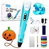 Sunfuny 3D Pen, 3D Printing Pen with 150 Feet 15 Color PLA Filament