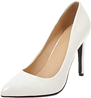 JOJONUNU Women Pointed Toe Pumps