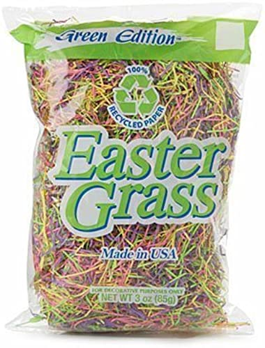 mejor marca Paper Easter Basket Grass - 100% Recycled Paper Decorative Decorative Decorative Craft Projects - Set of 2 Bags - Multi-colorojo by verde Edition  con 60% de descuento