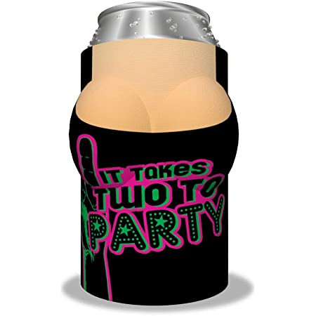 """Boobzie """"It Takes Two to Party"""" Insulated Can Cover"""