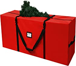 AerWo Christmas Tree Storage Bag Extra Large Christmas Storage Containers for 9ft Artificial Tree, 65in x 15in x 31in Xmas...