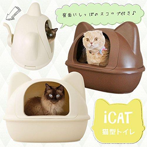 IDOG&ICAT『ネコ型トイレットスコップ付』