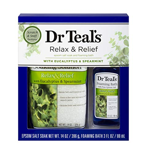 Dr Teal's Eucalyptus Epsom Salt &am…