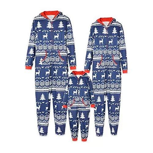 TLLW Coincidencia de la Navidad Pijamas de la Familia de Vacaciones Pijamas con Traje de Navidad de Impresión de la Familia de Ropa Traje de Pijama Conjunto de Niños