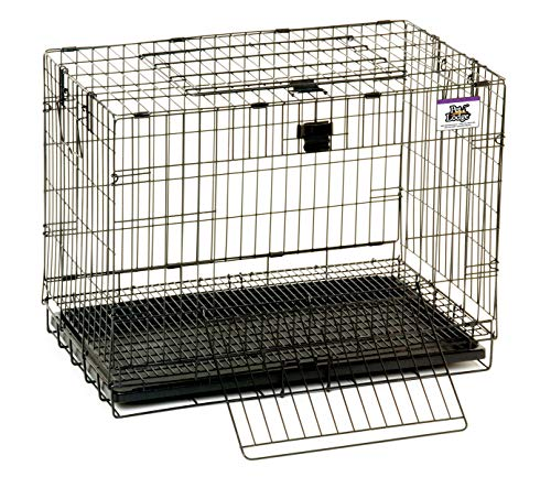 Little Giant Small Rabbit Cage - Pet Lodge - Portable Wire Pop-Up Rabbit Cage w/Easy to Clean Pull Out Floor, Also Great for Other Small Animals (Item No. 150903)