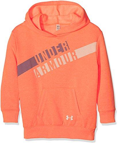 UNDAS|#Under Armour Under Armour Mädchen Favorite Fleece Hoody Oberteil, London Orange Light, YXS