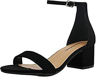 1 inch ankle strap heels