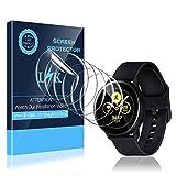 LK Compatible con Samsung Galaxy Watch Active 2 40mm Protector de Pantalla, 6 Pack,TPU-Film,Alta definición,Sensible al Tacto,LK-X-10