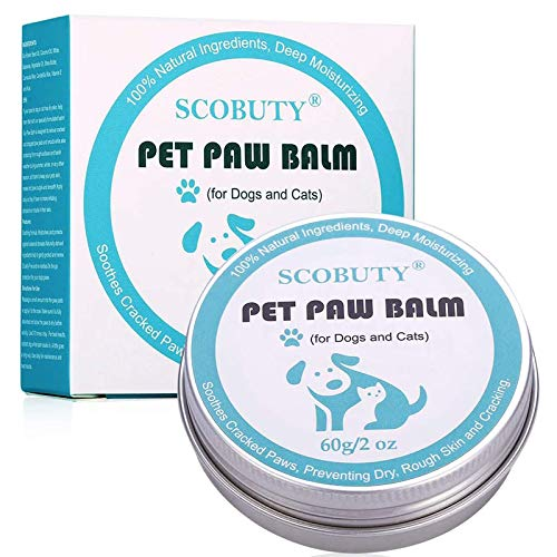 Paw Balm Dogs, Paw Butter Balm for Dogs, Paw Wax for Dogs, Paw and Nose Balm for Dogs, Relieve Dry,...