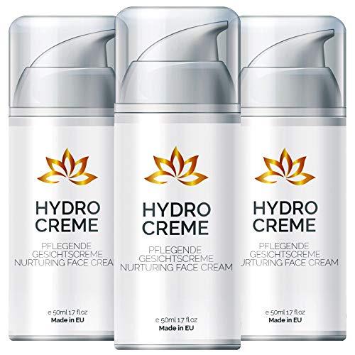 Hydro Creme - Anti Aging Creme für Frauen und Männer | Feuchtigkeitscreme - Tagescreme - Gesichtspflege (3)
