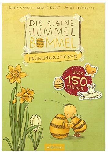 Die kleine Hummel Bommel - Frühlingssticker: Mit über 150 Stickern