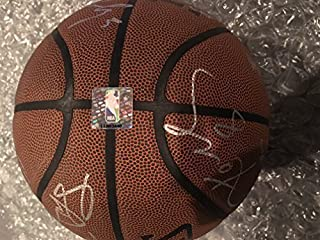 Official All Conference NBA Authenticated Team Autographed Basketball Kobe Bryant, Vujacic, Green, Walton, Odem & Many More