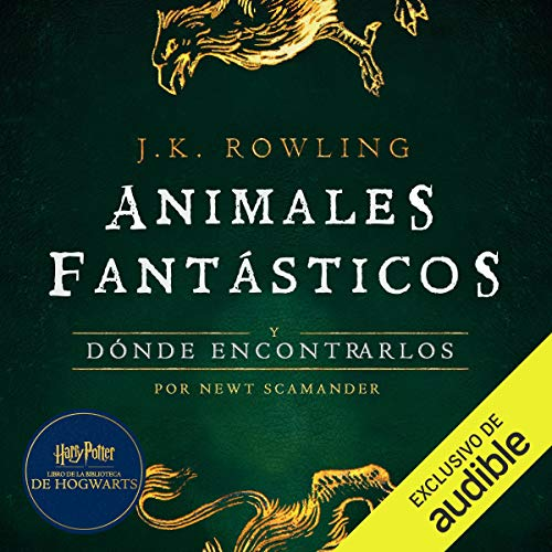 『Animales fantásticos y dónde encontrarlos [Fantastic Beasts and Where to Find Them]』のカバーアート