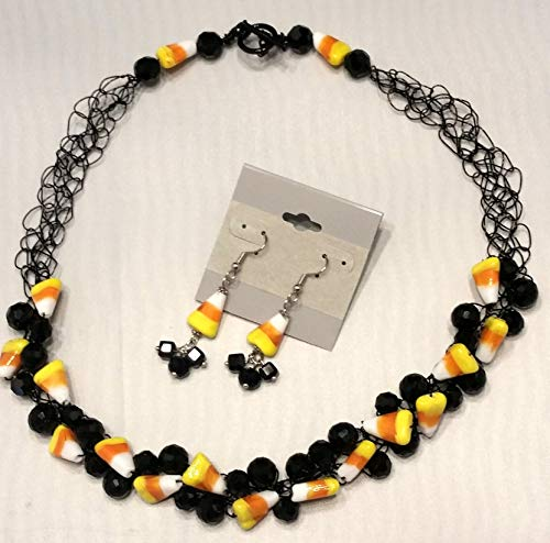 candy corn necklace - 6