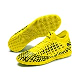 Puma Future 4.4 It', Scarpe da Calcetto Indoor Uomo, Giallo (Yellow Alert Black), 43 EU