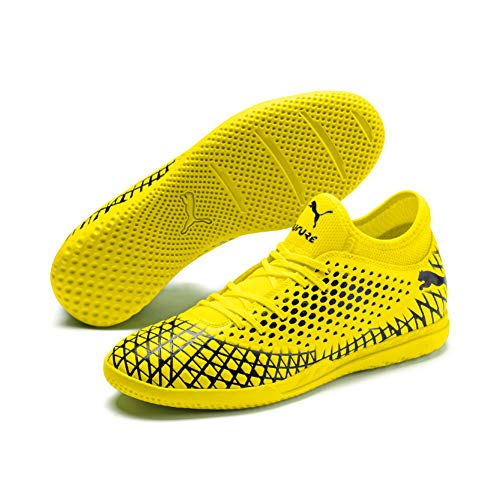 Puma Herren Future 4.4 IT Futsalschuhe, Gelb (Yellow Alert-Puma Black), 45 EU