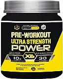 Pre workout booster | Pre workout ultra strength power X6 | Pré-entraînement puissant ultra concentré | Avec bêta-alanine + citrulline + caféine + bétanine + taurine + vitamines | Goût pastèque