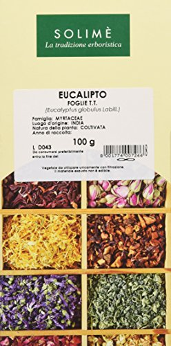 Eucalipto Foglie Taglio Tisana - 100 g - Prodotto made in Italy