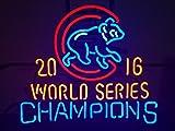 Urby 19'x15' Chicago Sports Unions Cub 2016 World Series Champions Neon Sign (MultipleSizes) Beer Bar Pub Neon Light Handicraft U126